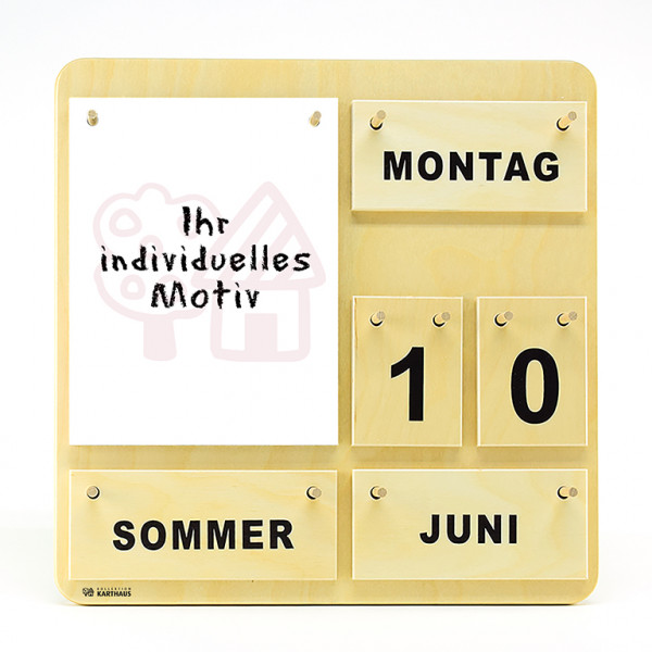 Kalender Individual